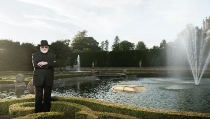 Michelangelo Pistoletto at Blenheim Palace