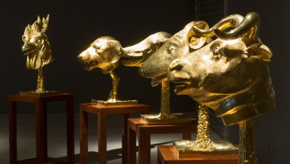 Ai Weiwei: Circle of Animals/Zodiac Heads