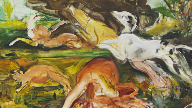 Cecily Brown at Blenheim Palace